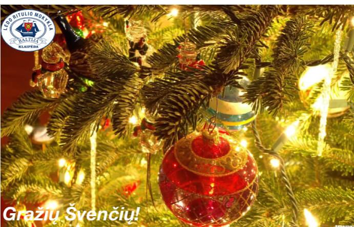 Su artėjančiomis gražiausiomis metų šventėmis!!!