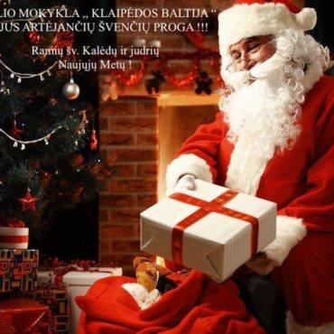 Ramių šv. Kalėdų ir judrių Naujųjų Metų!!!