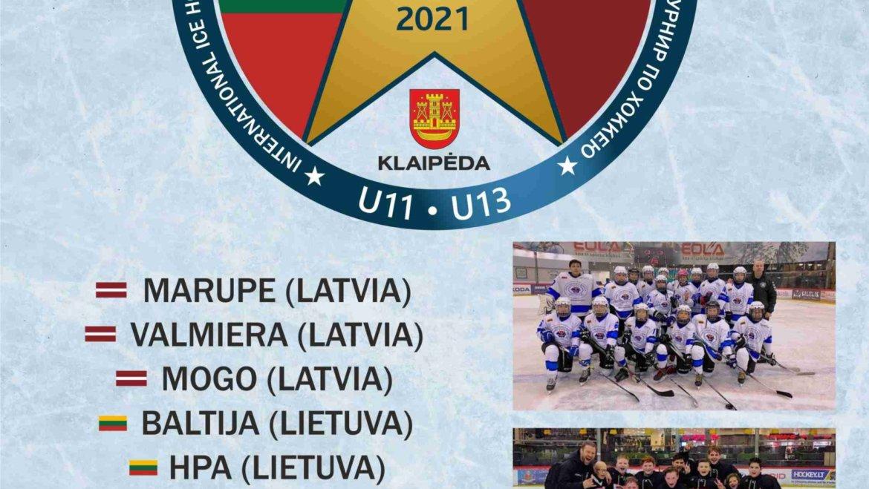 Tarptautinis ledo ritulio turnyras!