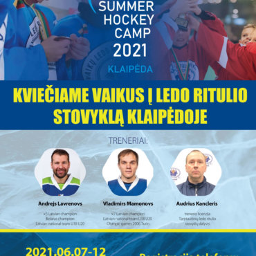 Summer Hockey camp Klaipėda!