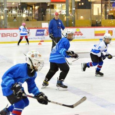 Kviečiame vaikus į rudens Ledo ritulio stovyklą